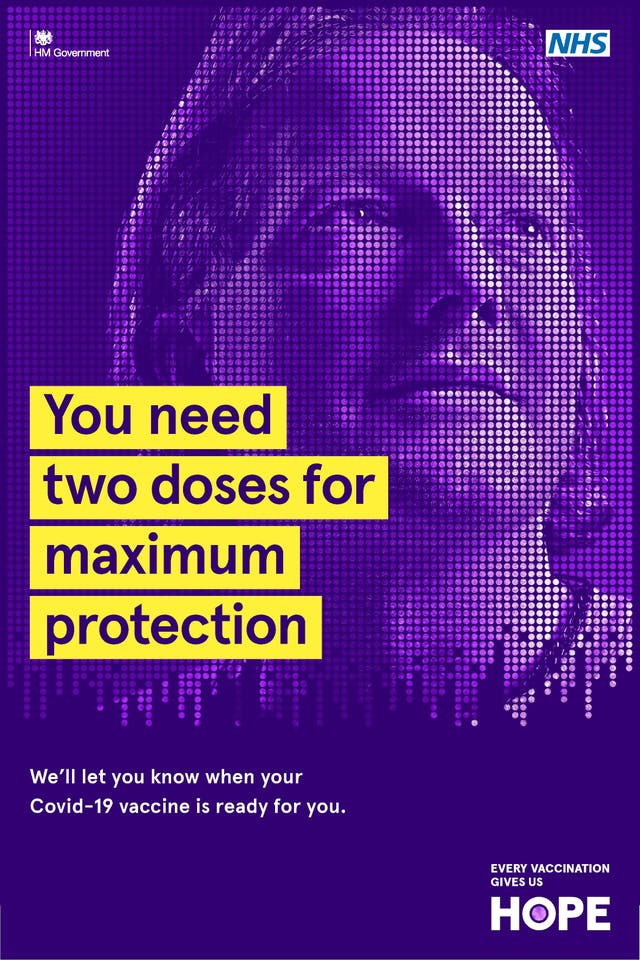 Andy Anson joins the UK Covid-19 Vaccination Poster Campaign